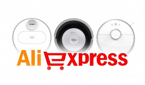 Роботы-пылесосы с Алиэкспресс: обзор популярных моделей