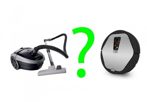 Робот или обычный пылесос?