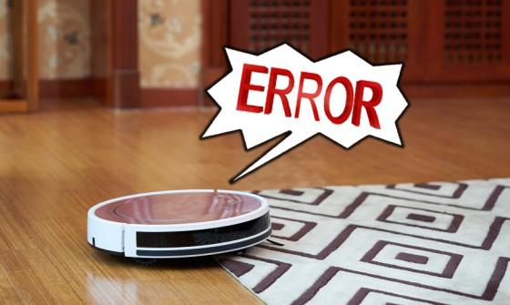 Возможные ошибки при работе робота-пылесоса iLife