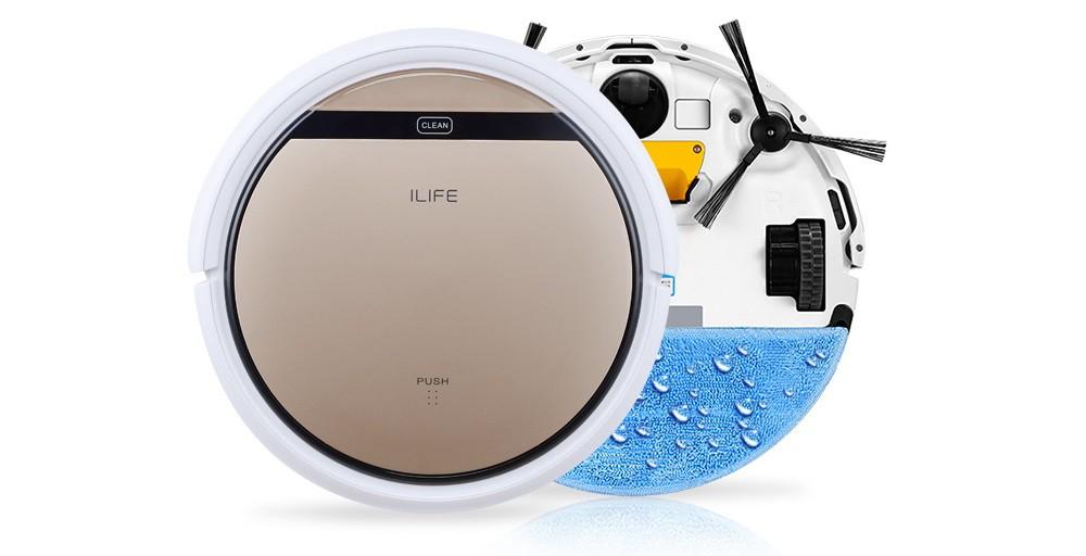 Влажная уборка с помощью роботов-пылесосов линейки iLife