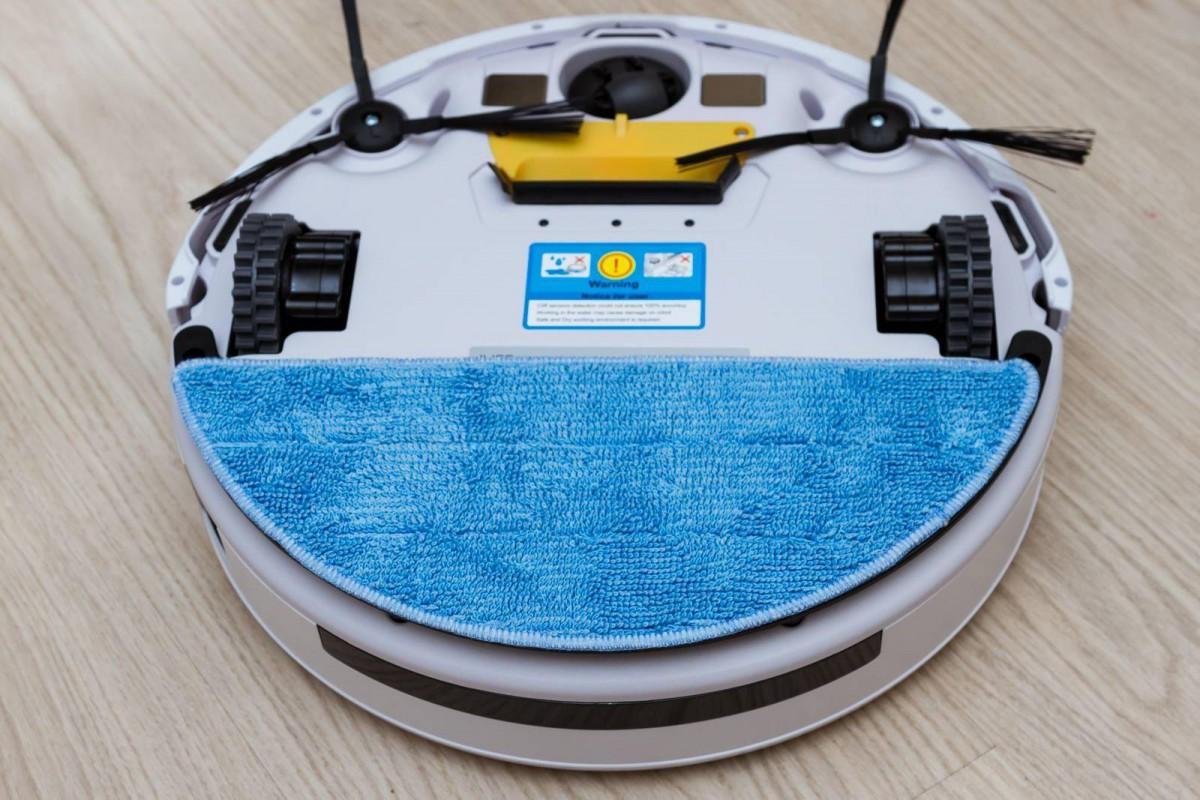 Замена салфетки робота-пылесоса iLife v55