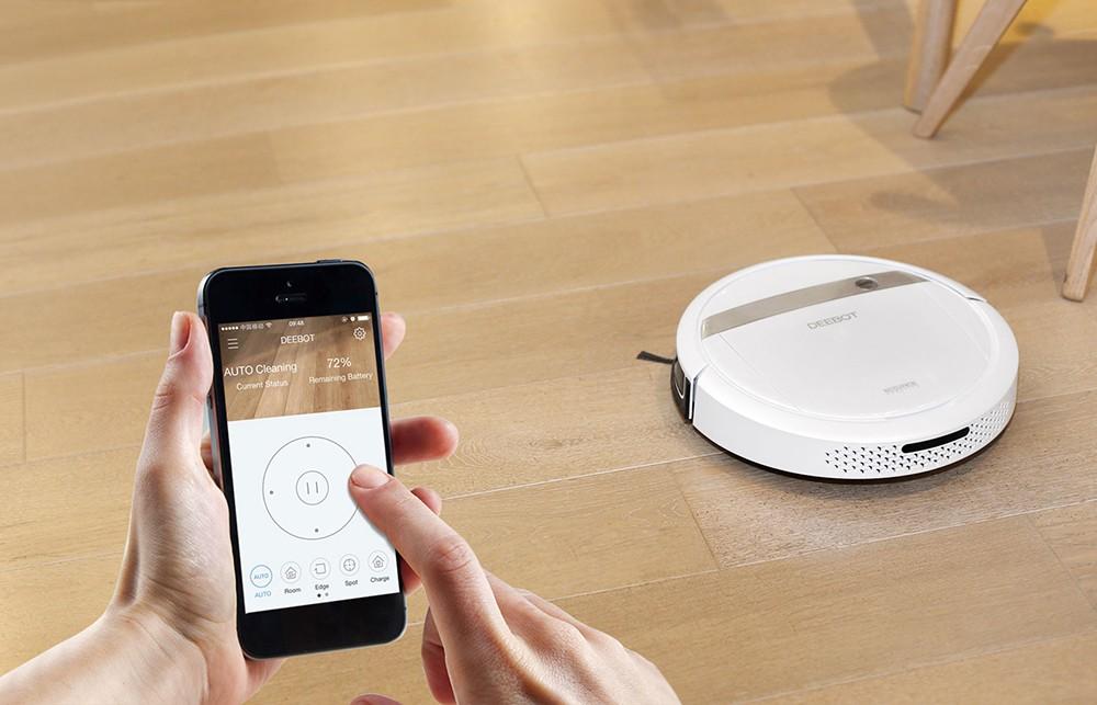 Как подключить робот-пылесос к смартфону