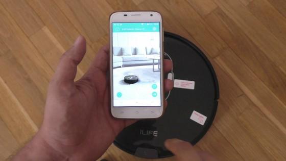 уравление роботоы-пылесосом ilife через приложение