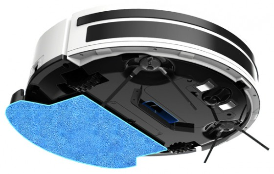 салфетка на роботе-пылесосе iLife