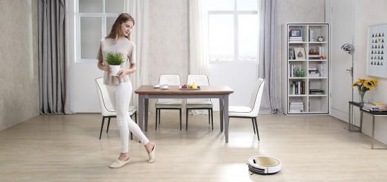 робот-пылесос iLife в доме