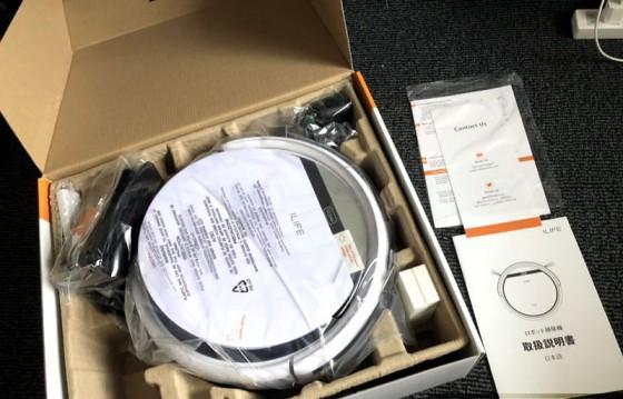 комплектация iLife V3s Pro