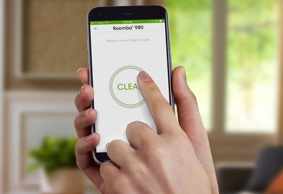 приложение для робота-пылесоса Roomba