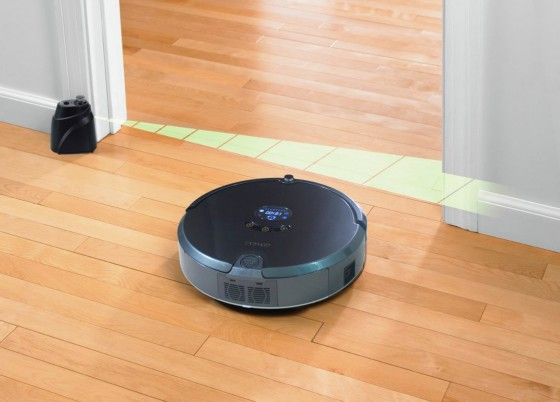 ограничение рабочей зоны робота-пылесоса