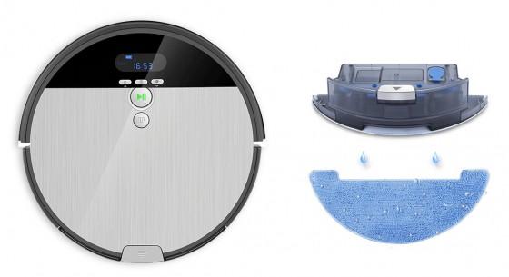принцип влажной уборки iLife V8s