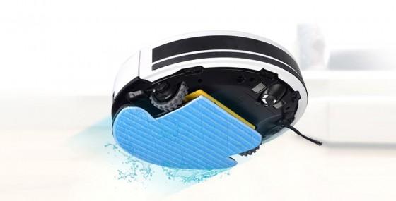 влажная уборка роботов-пылесосов iLife